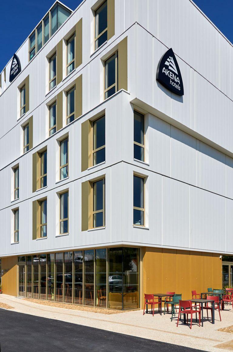 L'hôtel Akena Nantes Aéroport vous accueille à Rezé, à l'entrée de Nantes.