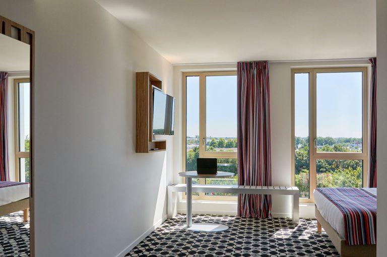Certaines de nos chambres vous proposent une vue splendide sur la verdure environnante.
