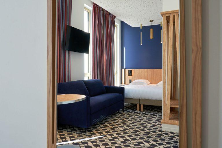 Pour un séjour très agréable, choisissez nos suites, spacieuses, confortables, et bien équipées.
