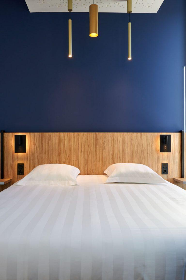 Nos chambres ont été conçues pour être des cocons de douceur et de calme.